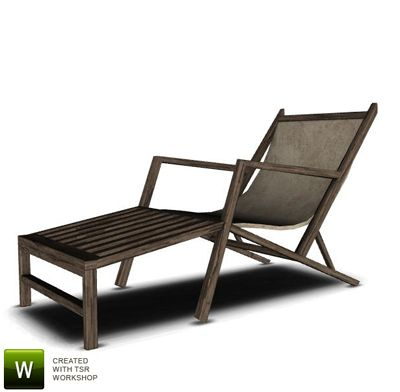 Folding Lawn Chair Lounger Striped Sofas And Chairs 22 Best The Sims 3 Cc Lounge Images On Pinterest | Chaise Chairs, Lounges ...