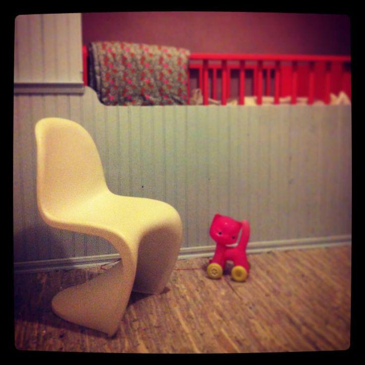 Verner panton reproductie #kinderstoel | Petit Village via Woonhome