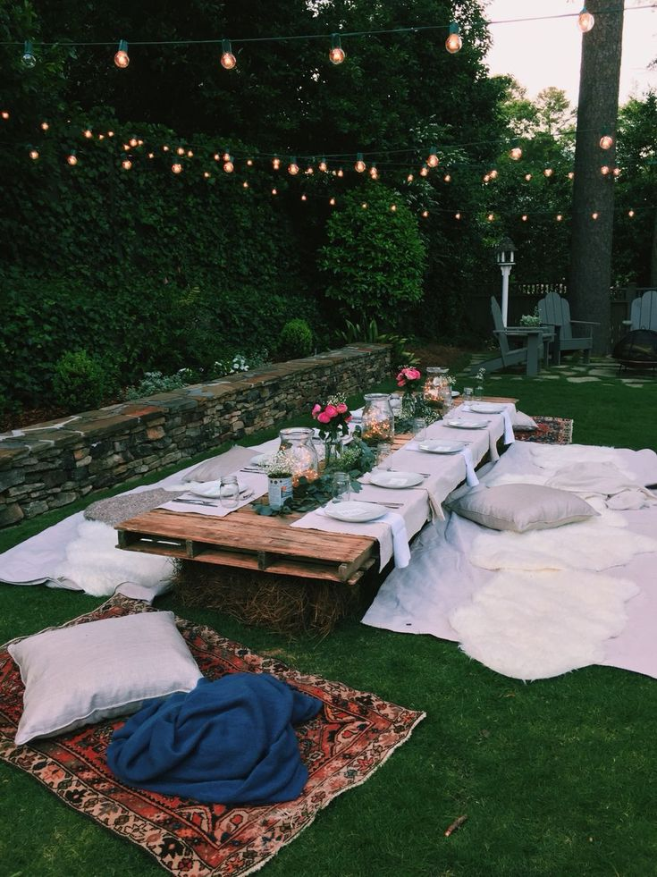 The 14 All-Time Best Backyard Party Ideas What you never see on Pinterest: the t…
