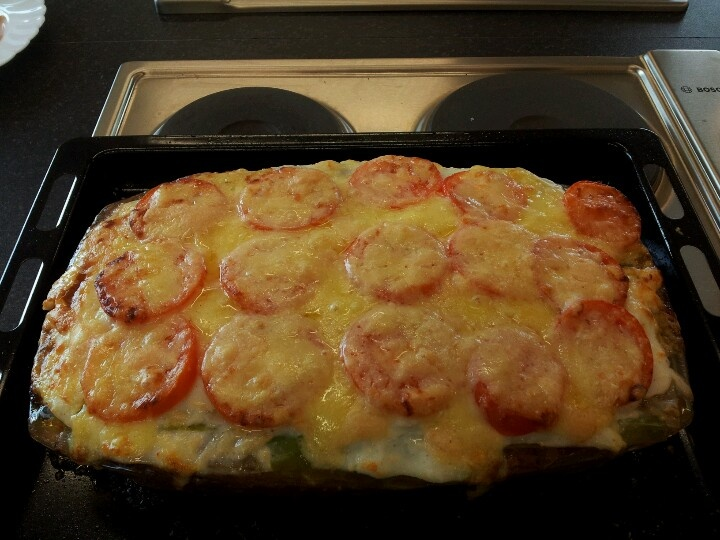 The hairy dieters skinny beef lasagne. (I think this is the one D made and said it's guid)