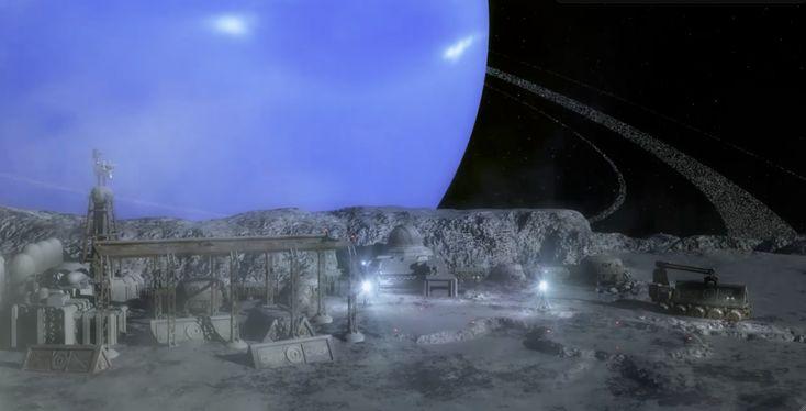 triton moon | Triton Moon Base