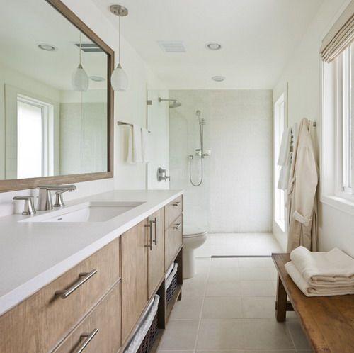 1000 Ideas About Long Narrow Bathroom On Pinterest