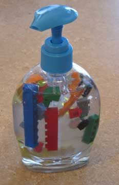 Sapone lego kid friendly