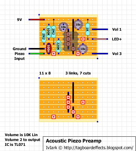acoustic electric guitar wiring diagram 38 best images about electronic projects on pinterest