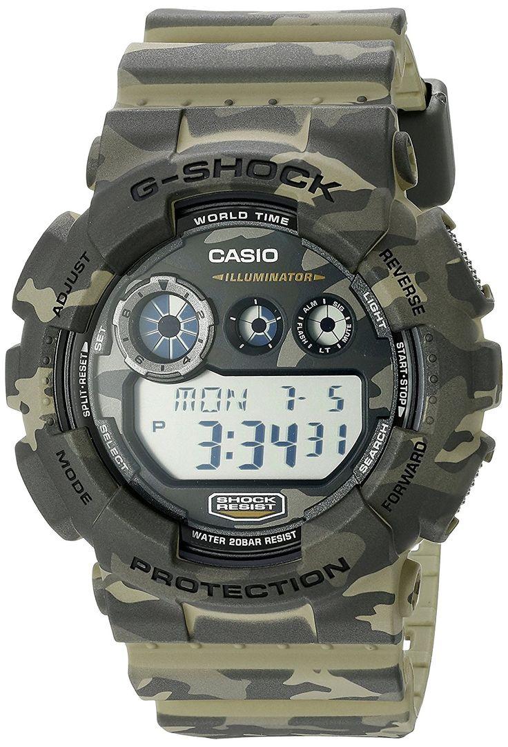 Camouflage G-Shock Watch