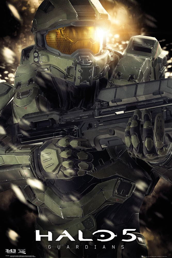 Halo 5 Master Chief Poster - Gamer heaven