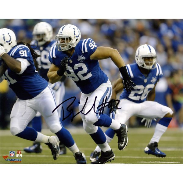 "Bjoern Werner Indianapolis Colts Fanatics Authentic Autographed 8"" x 10"" Horizontal Running Photograph - $9.99"