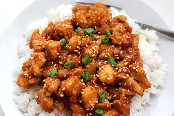 This crockpot sweet and sour chicken is going to rock your world. It's a great alternative to take out and is very easy to make.