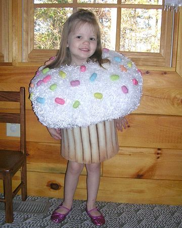 i made this for so cute then it won msl see cupcake in our your best halloween costumes gallery martha stewart living - Halloween Costume Cupcake