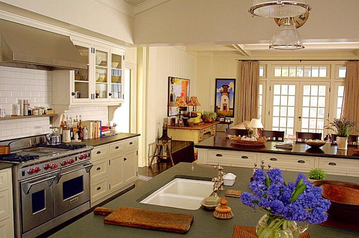 Something's Gotta Give kitchen soapstone counters-Arch Dig
