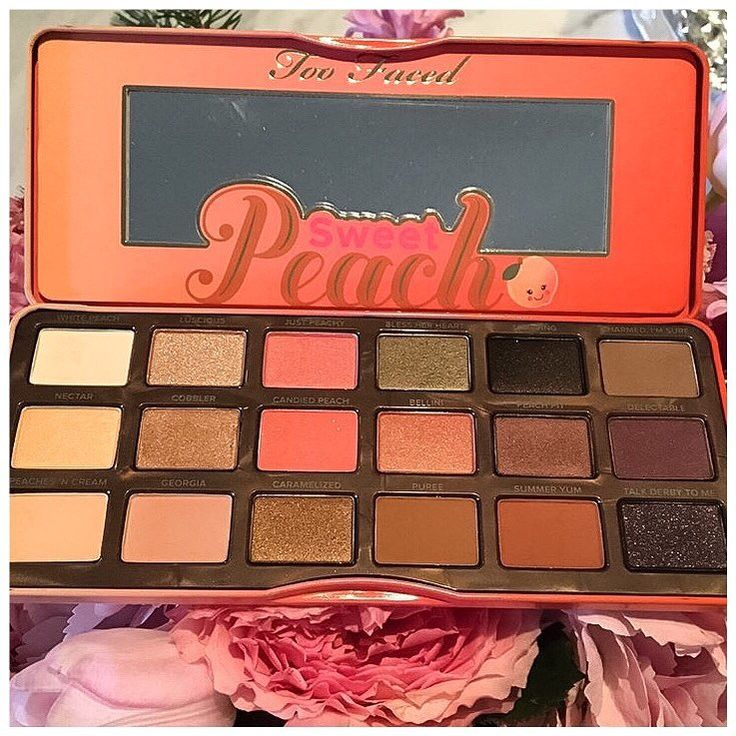 Too Faced Sweet Peach Eyeshadow Palette Preview | Summer 2016