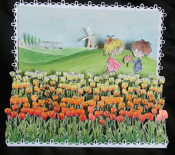 #Marianne Design Team ☆JP☆ #Marianne Design #Tulip #Holland #Netherlands