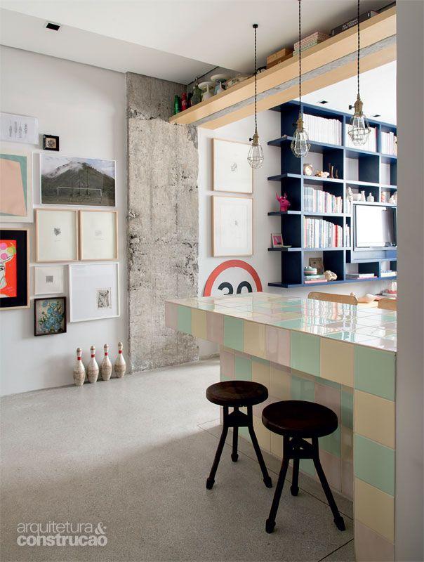 Pacto entre irmãos: apartamento de 62 m² reformado - Casa