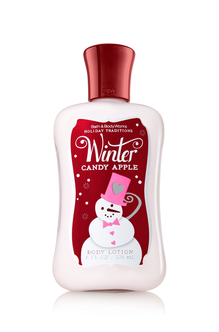 Bath and body works holiday scents - Winter Candy Apple Body Lotion Signature Collection Bath Body Works 11