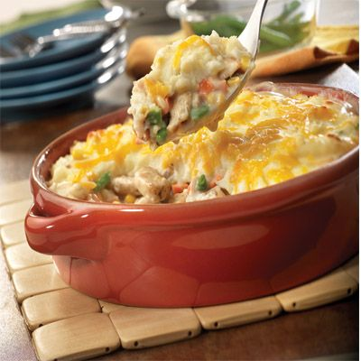 Heart Healthy Dinners- Easy Chicken Shepard's Pie