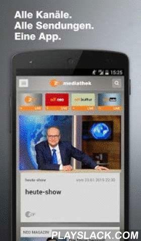 """ZDF-App  Android App - playslack.com ,  Mit der aktuellen Version der ZDF-App treten sie in Kontakt mit dem ZDF-Programm: Durch neue Second-Screen-Funktionen bekommen Sie die Möglichkeit, zeitgleich zur Ausstrahlung im TV Zusatzinformationen zu nutzen und mit dem Programm zu interagieren. Das ZDF begleitet unter anderem die Champions League, das """"NEO MAGAZIN ROYALE"""", das Verbrauchermagazin """"WISO"""" und den Polittalk """"maybrit illner"""" mit einem Second Screen-Angebot.Natürlich können Sie die…"""