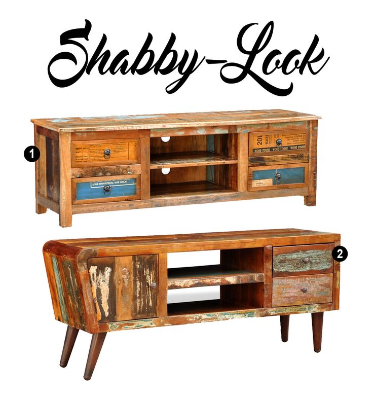 Shabby Chic TV Sideboard