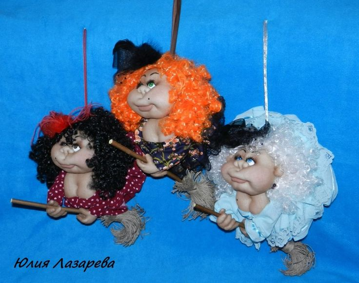Куклы в чулочной технике, цветы из капрона и фома