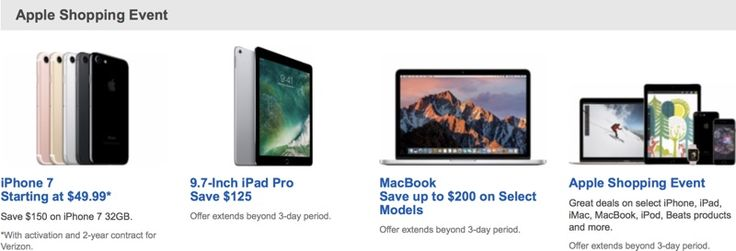 cool Best Buy's Last Minute Holiday Deals Include $125 Off iPad Pro, Up to $200 Off Macs