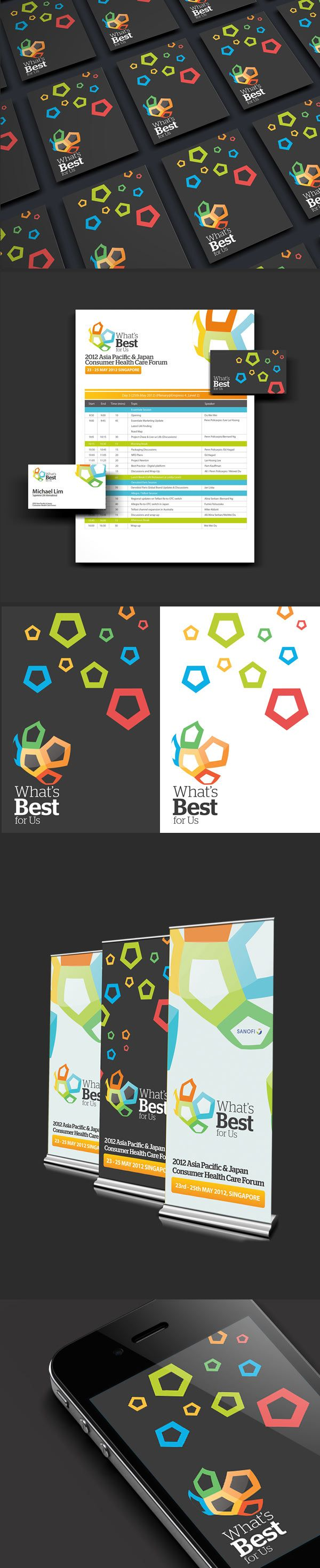 What's Best For Us - Brand Identity by Lemongraphic