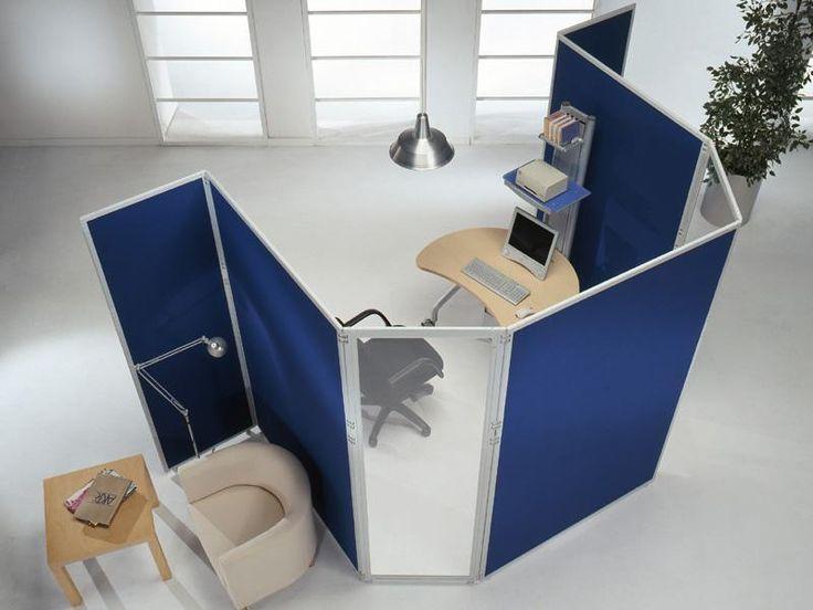 Linea CLIPPER - Pannelli divisori, pareti mobili, separè su ruote, schermi flessibili, progettazione, produzione e vendita - Clipper System #openspace #ufficio