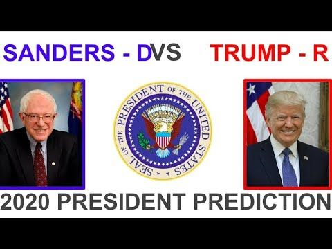 Image result for sanders vs trump 2020