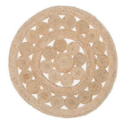 Natural Daisy Jute Rug by Network Rugs. Get it now or find more All Rugs at Temple & Webster.
