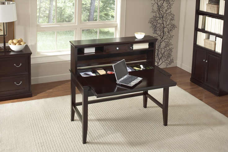 kathy ireland Home by Martin Fulton desk with hidden