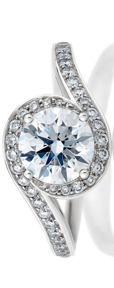 De Beers Caress Diamond Ring | La Beℓℓe ℳystère
