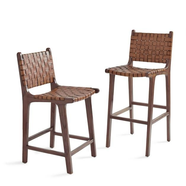 Augusto Low Back Bar Counter Stool Grandin Road Wicker Bar