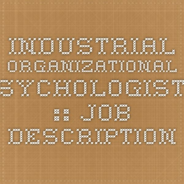 Best  Psychologist Job Description Ideas On   It