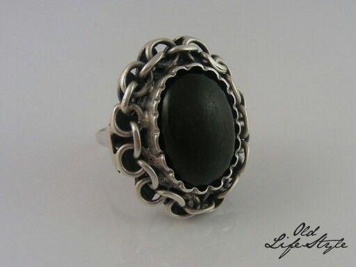 Pierścionek ORNO - projekt Franciszka Szymanek/ silver ring ORNO/ polish vintage…