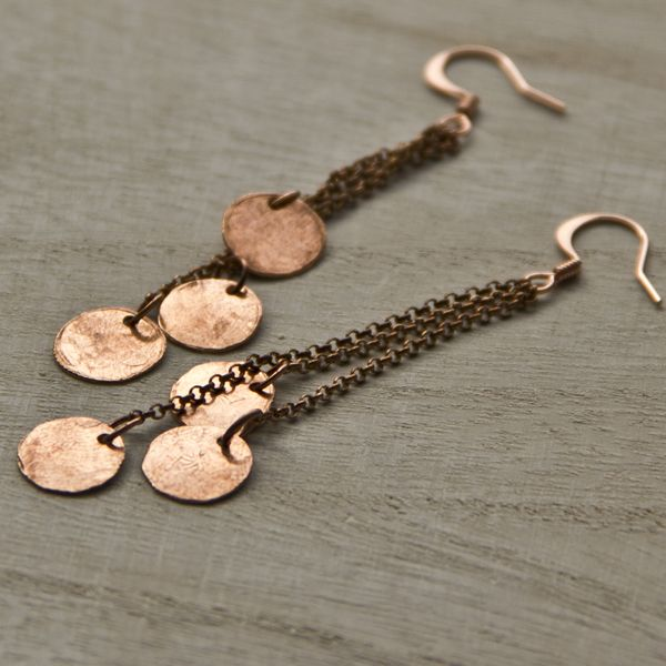 Embergrass Jewelry. #handmade #copper #jewelry
