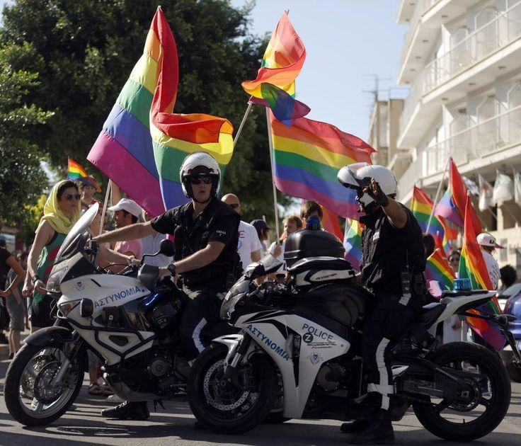 """We hope Cyprus becomes a European Union member country that respects rights not only in words, but in deeds as well,"" said Modinos. 
