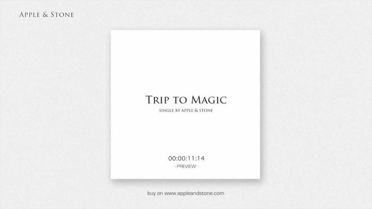 TRIP TO MAGIC - 1st single preview - buy 1.00 $ Website - http://www.appleandstone.com