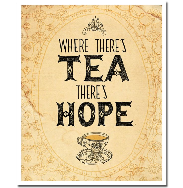 Aaaaawwww  Tea!