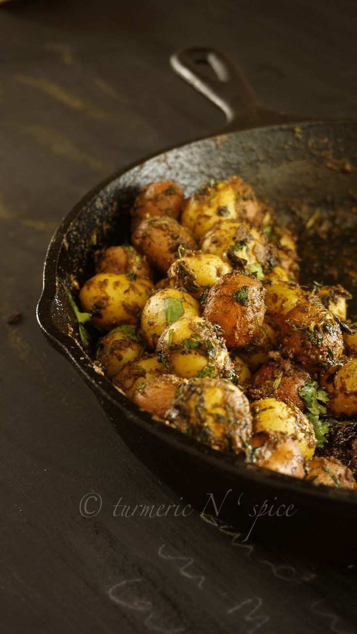 Spice coated baby potatoes | Potato curry, Spices and Babies