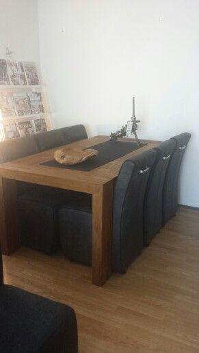 eettafel + nieuwe stoelen! ♡