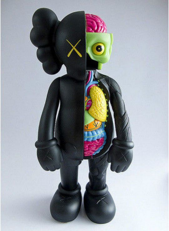1980a2c5a99 20cm 8inch KAWS Dissected Companion Action Figures for Kids Original ...