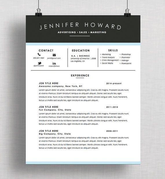 Resume Templates Mac 24 Best Resumecv Templates Images On Pinterest  Resume Cv Cover