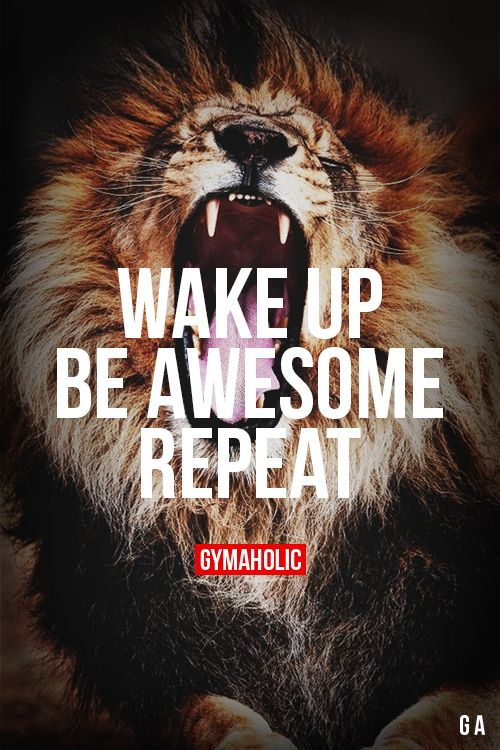 Wake Up, Be Awesome, Repeat