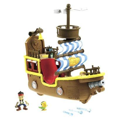 Jack-Fisher Price Disney's Jake and The Neverland Pirates - Bucky Pirate Ship
