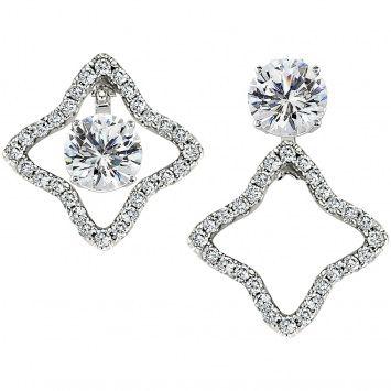 Convertible Diamond Earrings