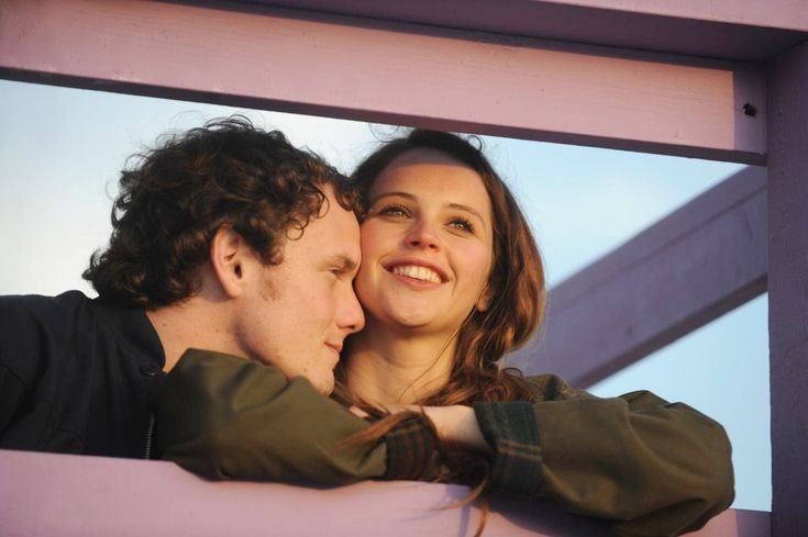 "andiezone: "" Anton Yelchin and Felicity Jones in ""Like Crazy"" """