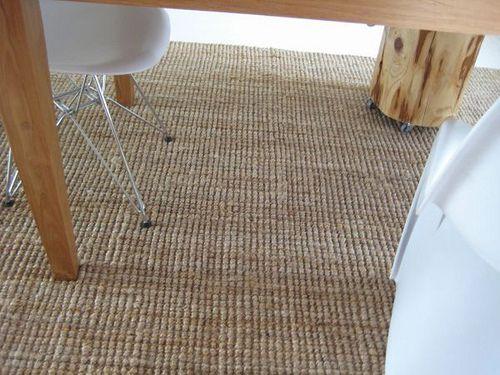 New Ikea Tarnby Rug + Eames Dsr, Panton Chair By Moonzaiek , Via Flickr