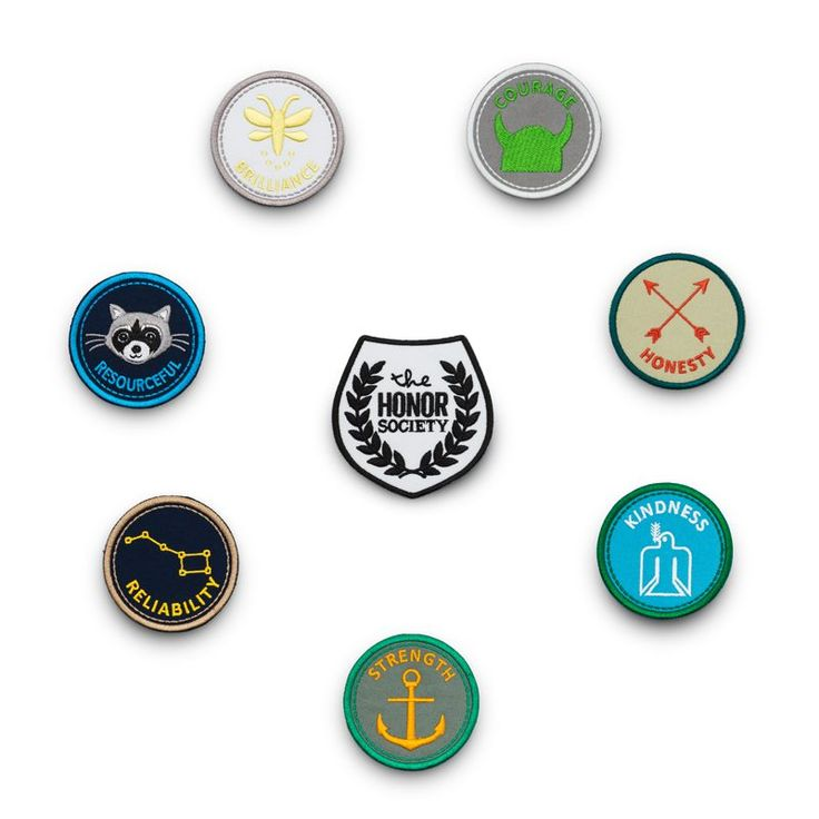 - Description - More Info. - The Brand Mastering the art of life is no small feat. Encourage your little citizens of the world to do good, be good, and live good with these awesome merit badges. They'