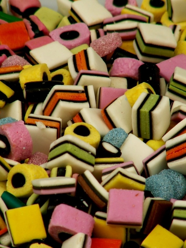 """""""bonbons anglais""""- Dad's all-time favorite candy. He'd always be upset to see I'd found his stash & eaten the circular pieces."""