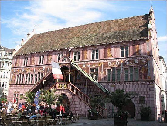 Hôtel de ville de Mulhouse (1550)
