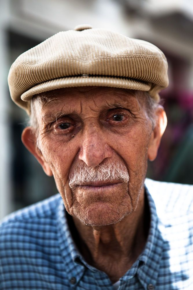 Portrait of an old man in the streets of Naxos, Greece. by Markus Gebauer Photography on 500px