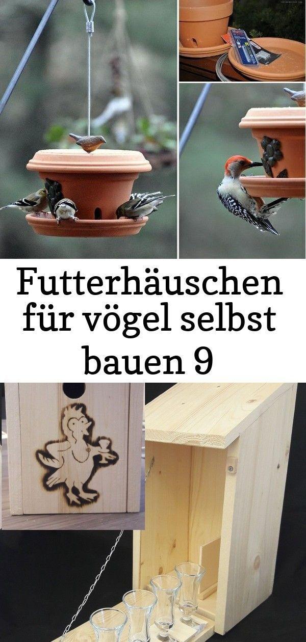 Futterhauschen Fur Vogel Selbst Bauen 9 Decor Outdoor Decor Bird Feeders